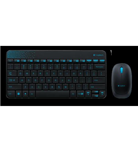 Bộ chuột bàn phím không dây Logitech Wireless Combo MK240