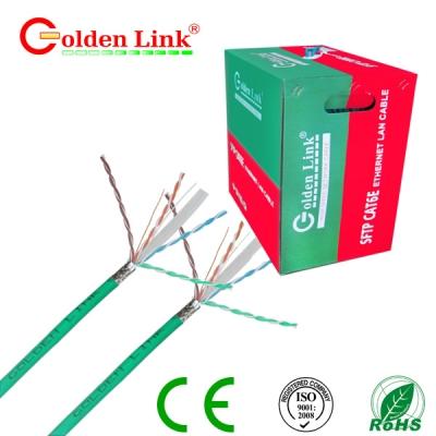 Dây cáp mạng Golden Link - 4 pair (SFTP Cat 6e) chống nhiễu