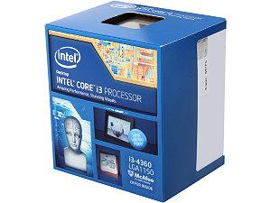 Intel Core i3-4360 Processor  (4M Cache, 3.70 GHz)