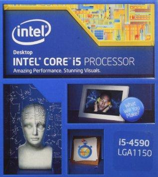 Intel Core i5-4590 Processor  (6M Cache, up to 3.30 GHz)