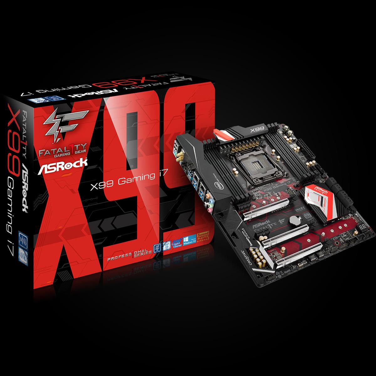 Main Fatal1ty X99 Professional Gaming i7, Socket 2011