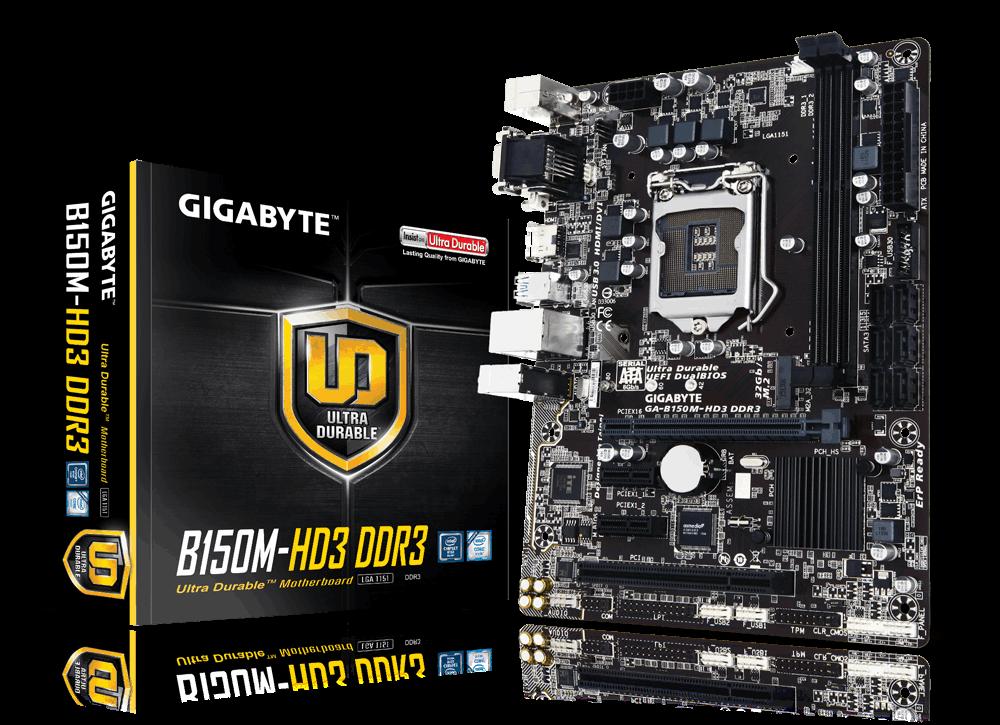 Main Gigabyte GA-B150M-HD3-DDR3, Socket 1151 (GA-B150M-HD3-DDR3)