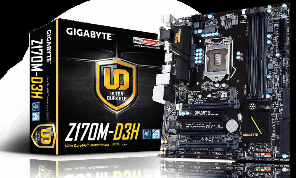 Main Gigabyte GA-Z170M-D3H, Socket 1151 (GA-Z170M-D3H)