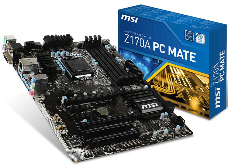 Mainboard MSI Z170A PC MATE Socket 1151 (Z170A PC MATE)