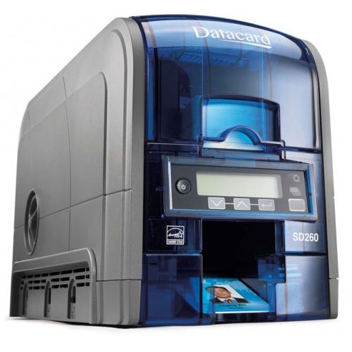 Máy in thẻ Datacard SD260L, in màu một mặt có mã hóa từ