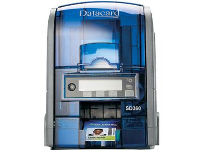 Máy in thẻ Datacard SD360, in màu hai mặt có mã hóa