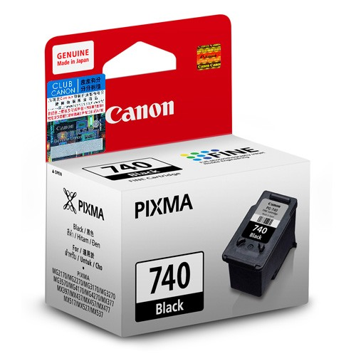 Mực in Canon PG740 BlaCk Ink Cartridge (PG740)