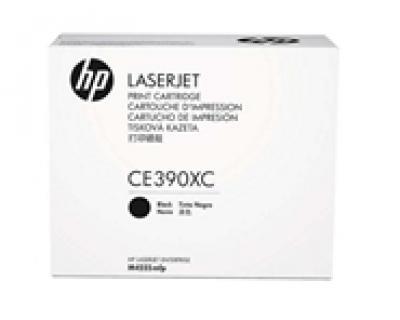 Mực in chính hãng HP 90XC Black LaserJet Toner Cartridge (CE390XC)