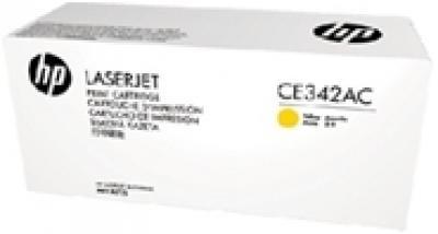 Mực in chính hãng HP CE342AC Yellow Original Laserjet Toner Cartridge (CE342AC)