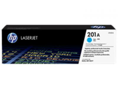 Mực in chính hãng Laser màu xanh HP 201A Cyan Original LaserJet Toner Cartridge (CF401A)