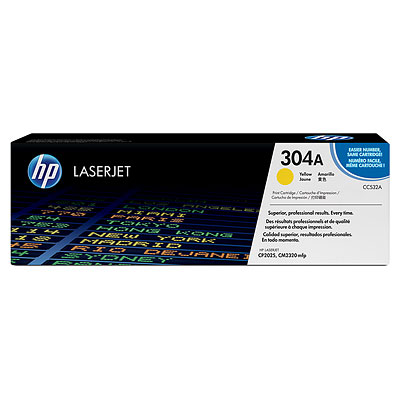 Mực in HP 304A Yellow LaserJet Toner Cartridge (CC532A)