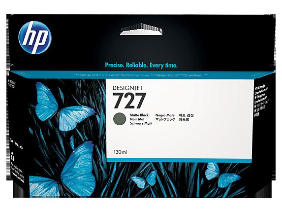 Mực in HP 727 130-ml Matte Black Designjet Ink Cartridge (B3P22A)