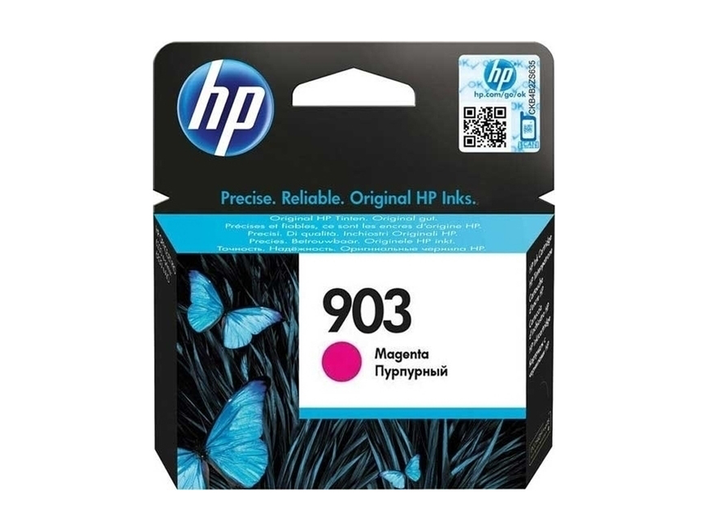 Mực in HP 903 Magenta Original Ink Cartridge (T6L91AE)