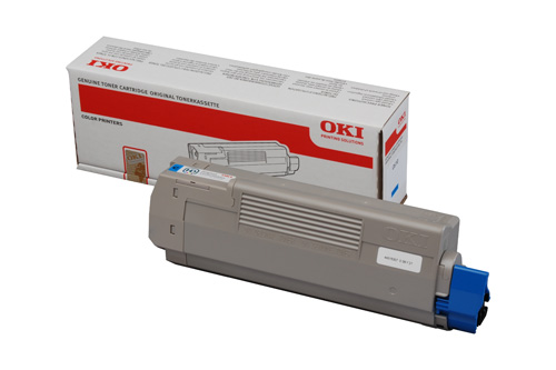 Mực in Oki C610C Cyan Toner Cartridge