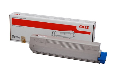Mực in Oki C831 Cyan Toner Cartridge
