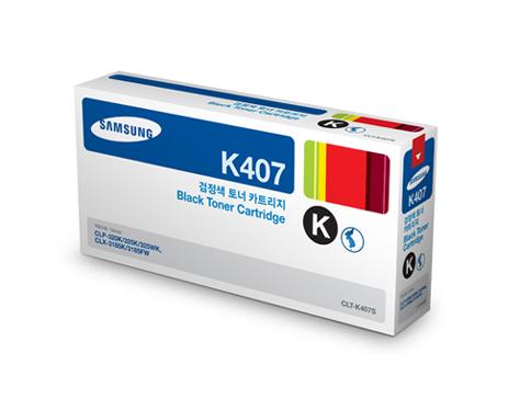 Mực in Samsung CLT-K407S Black Toner Cartridge