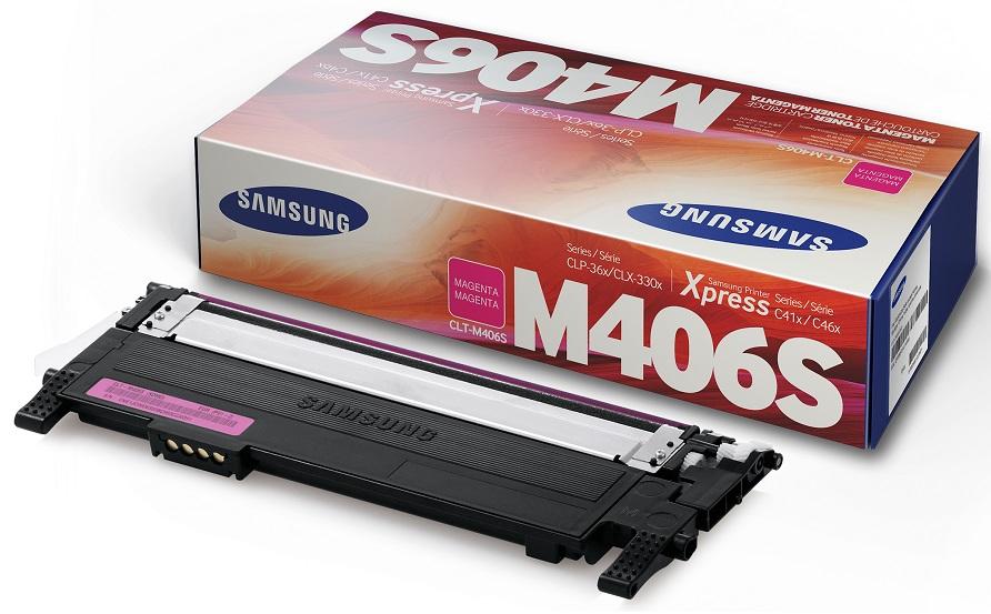 Mực in Samsung CLT M406S/SEE, Magenta Toner Cartridge