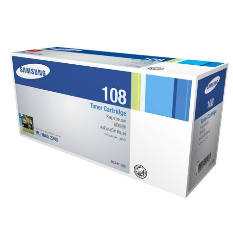 Mực in Samsung MLT D108S Black Toner Cartridge