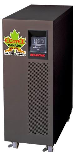 UPS 10.000VA SANTAK ONLINE 10KVA–MODEL C10KE