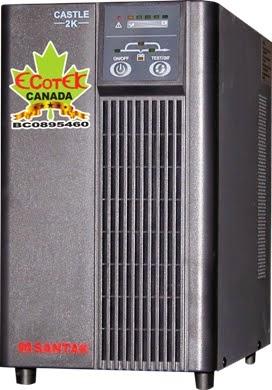 UPS 2000VA SANTAK ONLINE 2KVA–MODEL C2KE