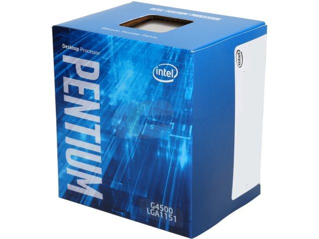 Intel Pentium Processor G4500  (3M Cache, 3.50 GHz)