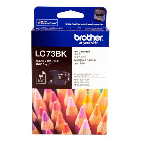 Mực in Brother LC 73 Black Ink Cartridge (LC73Bk)