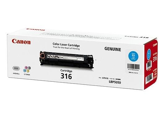 Mực in Canon 316 Cyan Toner Cartridge