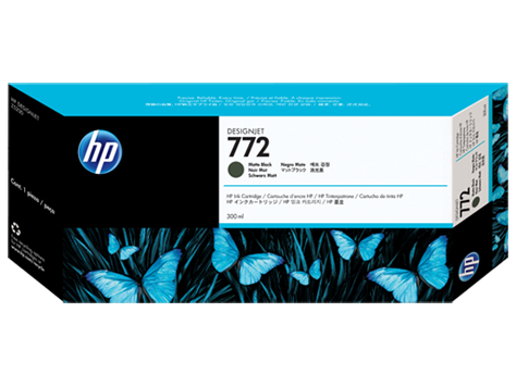 Mực in HP 772 300-ml Matte Black DesignJet Ink Cartridge (CN635A)