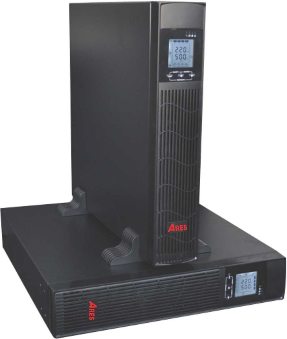 UPS 2KVA Ares AR902IIRT (1800w) Online Rack/Tower